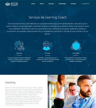 Site da Learning Coach